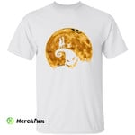 The Nightmare Before Christmas Jack Skellington And Sally On Oogie Boogie Horror Movie Character Halloween T-Shirt