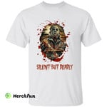 Michael Myers Silent But Deadly Horror Movie Character Halloween T-Shirt