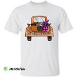 Halloween Truck Trick Or Treat T-Shirt