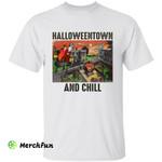 Halloweentown And Chill Pumpkin Witches Wizard Halloween Movie T-Shirt