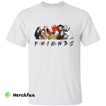 Friends Horror Movies Character Halloween T-Shirt