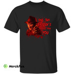 Bloody A Nightmare On Elm Street Freddy Krueger One Two Freddy' S Coming For You Halloween T-Shirt