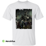 Horror Movies Character Haunted Castle Halloween T-Shirt