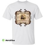 Funny Wizard Witch's Brew Salem Coffee Lover Halloween T-Shirt
