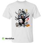 Chibi Horror Movies Character Halloween T-Shirt