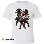 Heavy Metal Rock Band Of Horror Movies Character The Killers Halloween T-Shirt