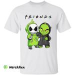 Friends Jack Skellington And Grinch Halloween T-Shirt