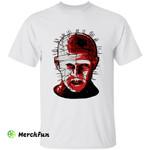 The Hellbound Heart Hellraiser Pinhead Hell Priest Horror Movie Character Halloween T-Shirt