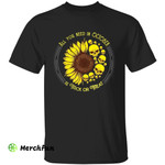 Skull Sunflower All You Need In October Is Trick Or Treat Halloween T-Shirt