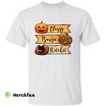 Pumpkin Classy Bougie Ratchet Halloween T-Shirt