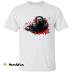 Friday The 13th Jason Voorhees CH CH CH AW AW AW Horror Movie Character Halloween T-Shirt