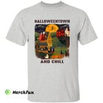 Halloweentown And Chill Witches Wizard Halloween Movie T-Shirt