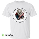 Friday The 13th Jason Voorhees I Hate People Horror Movie Character Halloween T-Shirt