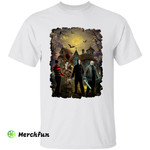 Freddy Krueger Pennywise Jason Voorhees Michael Myers Squad Of Horror Movies Character Halloween Night T-Shirt