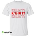 Killer Murder Killin' It Horror Movies Character Halloween T-Shirt