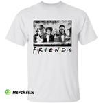 Friends Sanderson Sisters Michael Myers Jason Voorhees Freddy Krueger Horror Movies Character Halloween T-Shirt