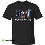 Witch Wizard Ursula Maleficent Queen Grimhilde Cruella de Vil Friends Halloween T-Shirt