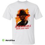 A Nightmare On Elm Street Freddy Krueger Screamworks Never Sleep Again Horror Movie Character Halloween T-Shirt