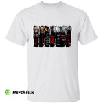 Horror Movies Character Quotes Halloween T-Shirt