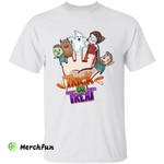 Funny Cartoon Trick Or Treat Hand Halloween T-Shirt