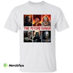 The Psycho Bunch Horror Movies Character Halloween T-Shirt