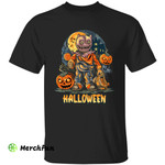 Creepy Pumpkins Treat Or Trick Horror Movie Character Halloween T-Shirt
