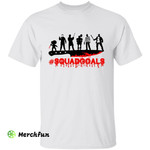 Bloody Horror Movies Character Squad Goals Halloween T-Shirt