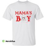 Friday The 13th Jason Voorhees Mamas Boy Halloween T-Shirt