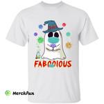 Funny Corona Covid-19 Virus Witch Ghost Faboolous Halloween T-Shirt