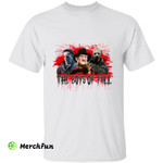 Bloody Michael Myers Freddy Krueger Jason Voorhees The Boys Of Fall Horror Movies Character Halloween T-Shirt