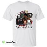 Bloody Friends Horror Movies Character Halloween T-Shirt