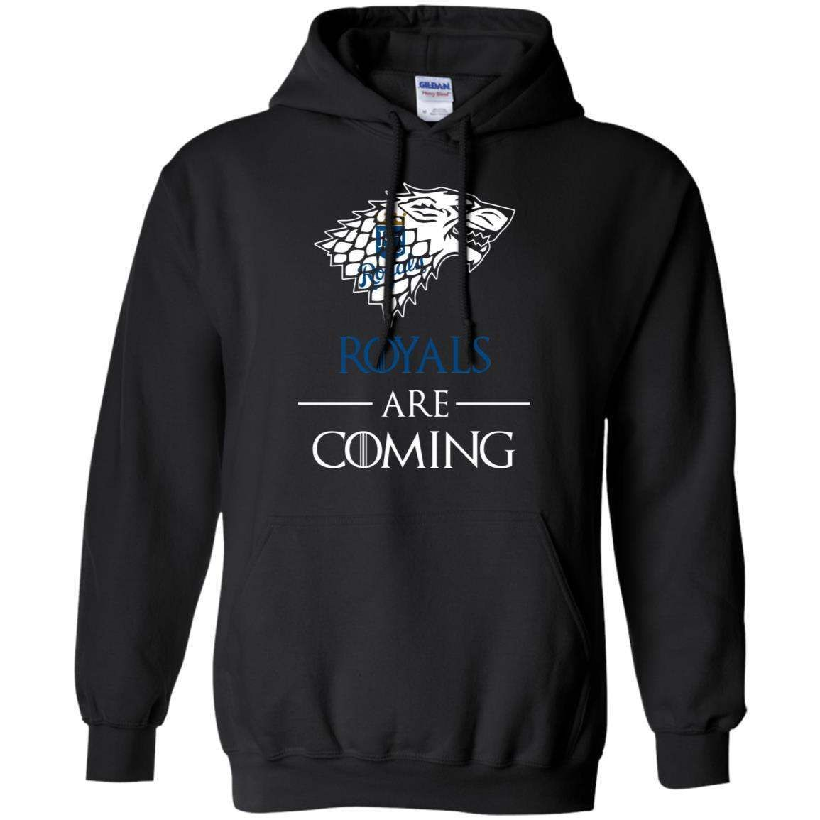 Kansas City Royals stark house are coming funny Game of Thrones shirt Hoodie