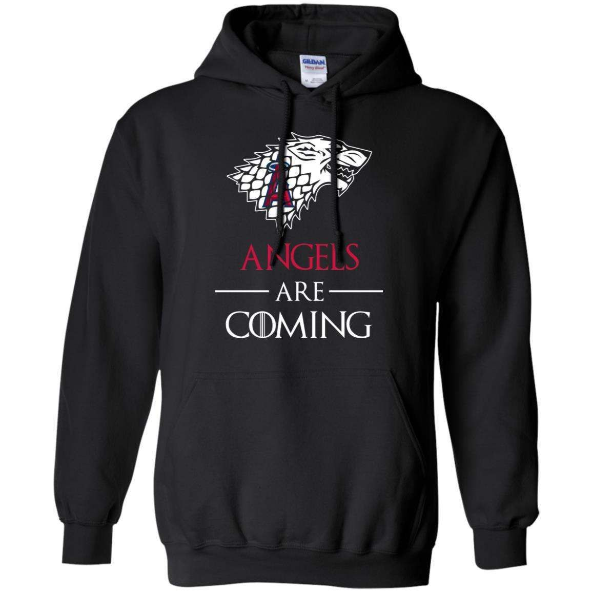 Los Angeles Angels stark house are coming funny Game of Thrones shirt Hoodie