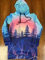 Rooted in Color Hooded Dress