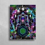 Astral Rafiki HD Metal Panel Print Ready to Hang