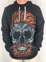 Bearded Skull Unisex Hoodie