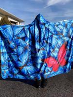 Beautiful Butterfly Hooded Blanket