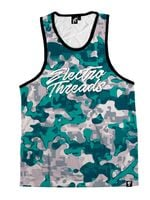 BLEACHED CORAL CAMO Unisex Tank Top