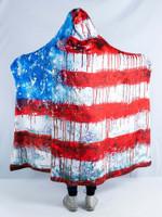 Bleed America Hooded Blanket