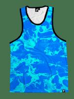 Blue Lagoon Unisex Tank Top
