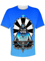 Blue Vibe Tribe Unisex Crew
