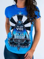 Blue Vibe Tribe Women's Crew