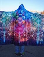 Chakra Balls Hooded Blanket