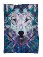 Crystal Wolf Blanket
