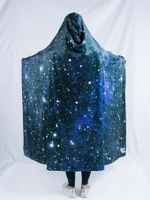 Deep Space Hooded Blanket