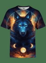 Dream Catcher Wolf Unisex Crew