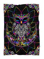 Electro Owl Blanket