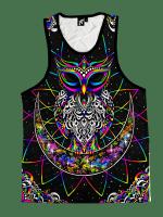 Electro Owl Unisex Tank Top