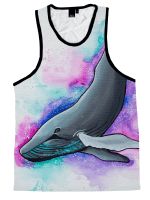 Fantasia Whale Unisex Tank Top