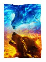 Fire and Ice Blanket
